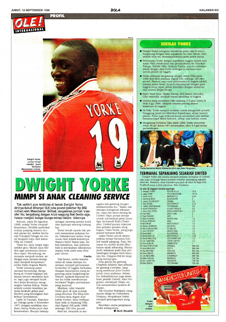 DWIGHT YORKE PROFILE