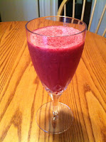 Beet and Cherry Smoothie