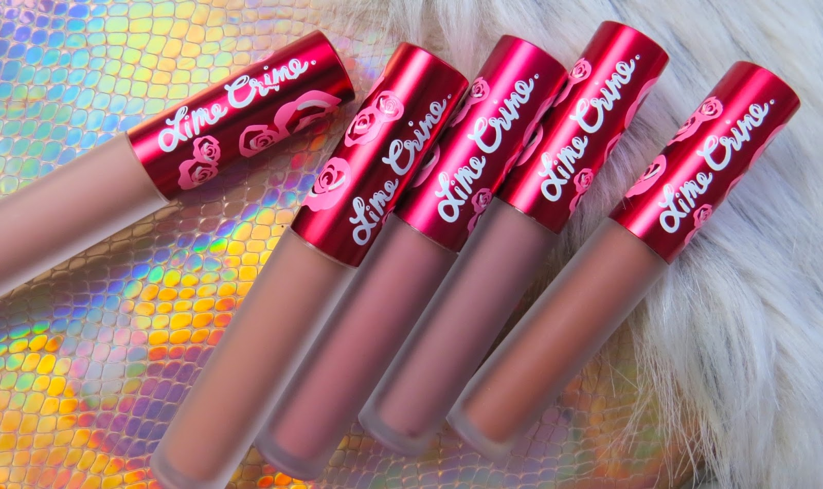 Amanda Gregory Beauty Lime Crime Girls Collection Velvetines All Shade I Also Love The Had My Name Written Al Over It