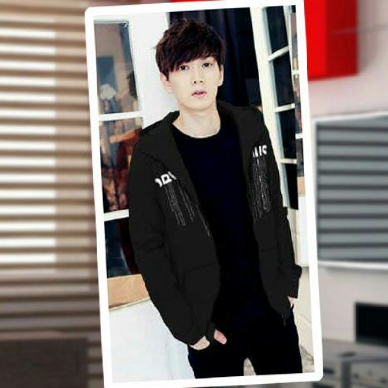 Jual Online Men Jacket Obvious Grey Jakarta Bahan Babytery Terbaru