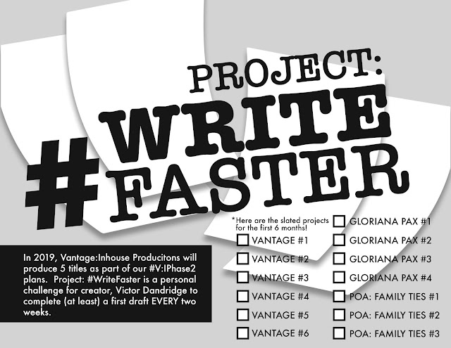 #Project:WriteFaster -- 6 months of projects coming from the #HWMiC