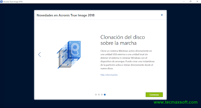 descargar Acronis True Image 2018 Gratis Captura 5