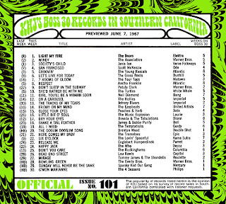 KHJ Boss 30 No. 101 - June 7, 1967