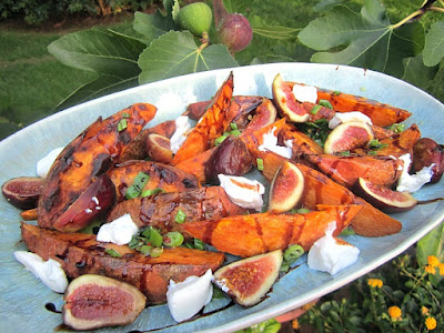 Stacey Snacks: Roasted Sweet Potatoes & Fresh Figs