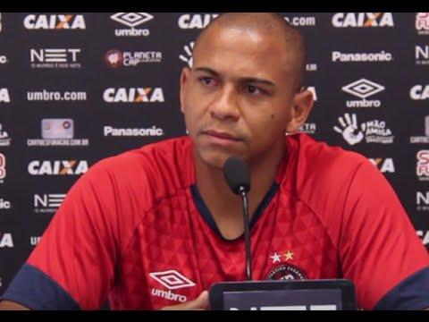Walter acredita em título do Atlético-PR: 'Vamos brigar para ser campeões do Brasileiro'