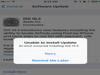 How to fix New iPhone Update Problems