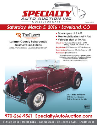 Specialty Auto Auction Loveland Colorado March 5
