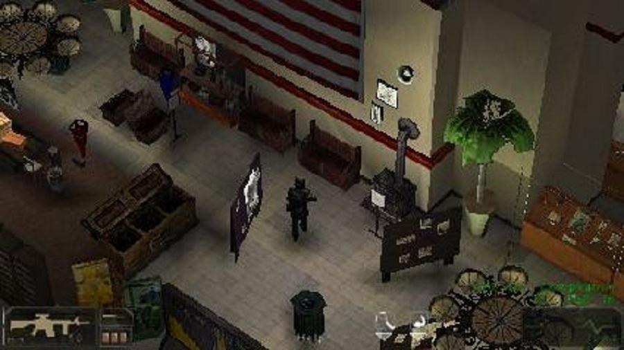 Daftar Kumpulan Game 3D FPS Tembak Tembakan Di PSP PPSSPP (Gameplay) : SWAT