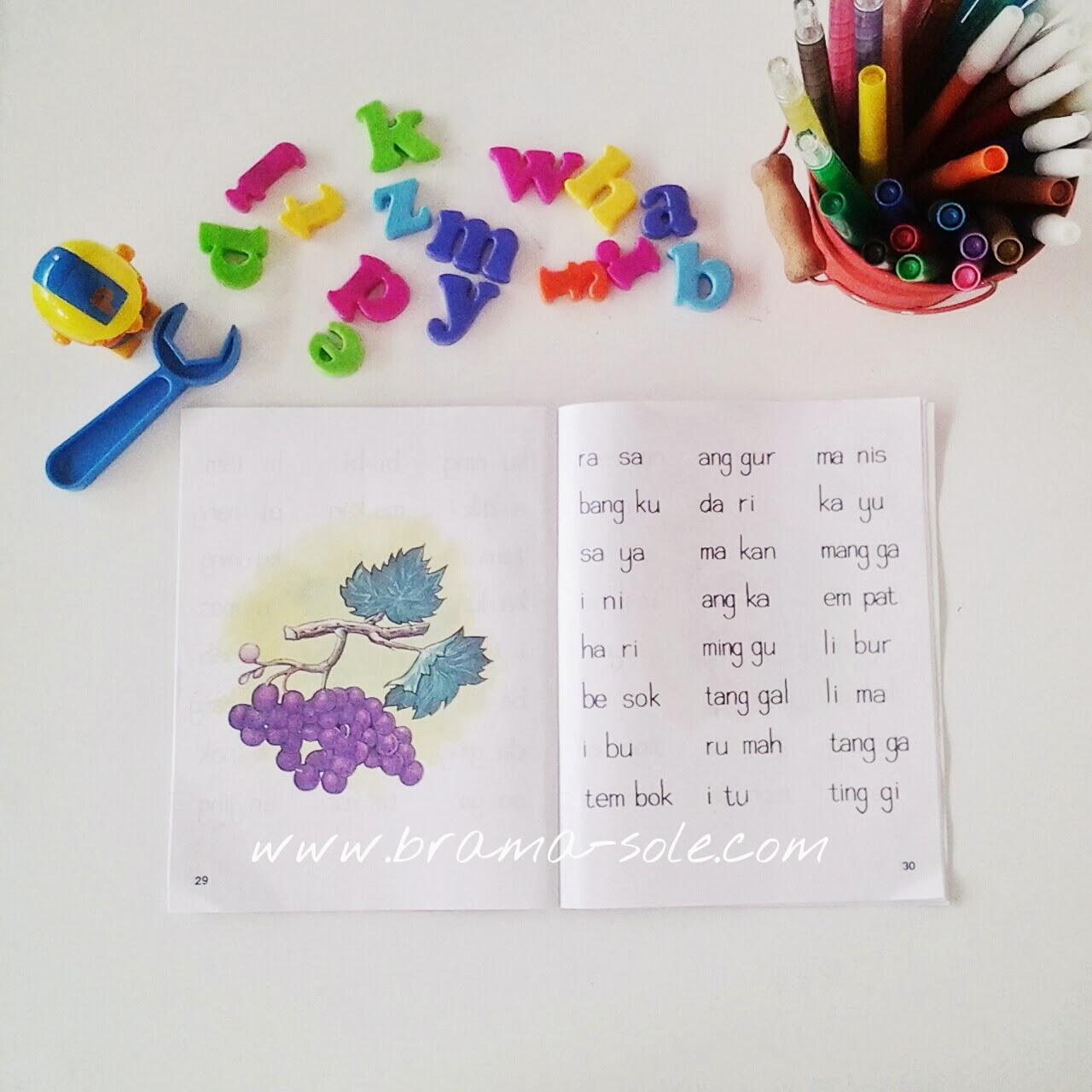 Belajar Calistung : Latihan Membaca Untuk Anak Usia 5-6 Tahun