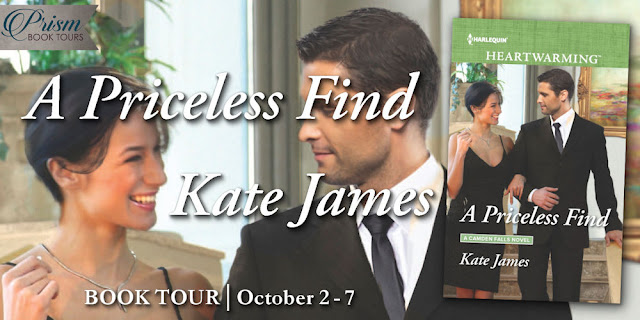 It's the Grand Finale for A PRICELESS FIND by KATE JAMES!
