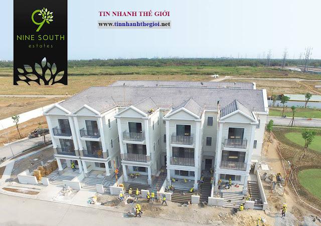 Mở bán đất nền biệt thự Nine South Estates và cho thuê biệt thự giá rẻ