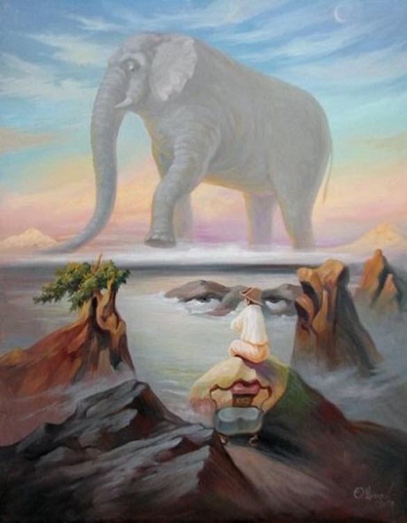Oleg Shuplyak 1967   Optical illusionist painter