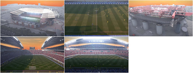 PES 2017 Evening Mod for Day Fine V1 dari Kyo Ku