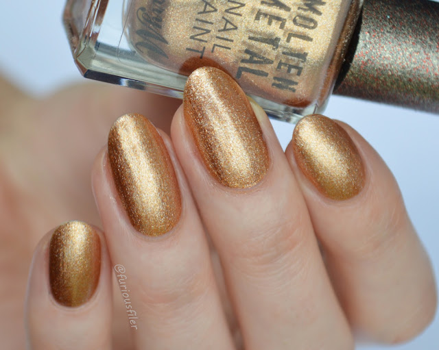 bronze bae barry m molten metals swatch