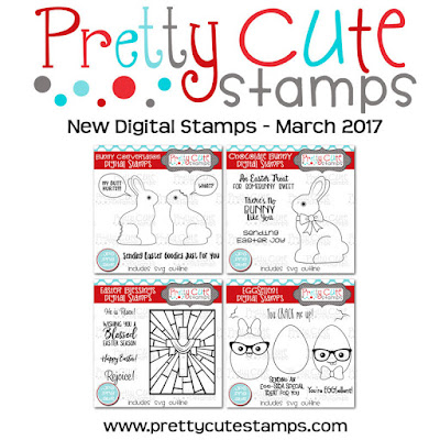 New Digital Stamps - March 2017