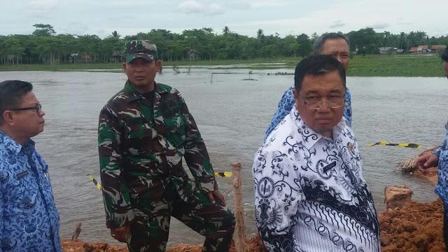 Pemkab OKI Desak Penanggulangan Banjir Secepatnya