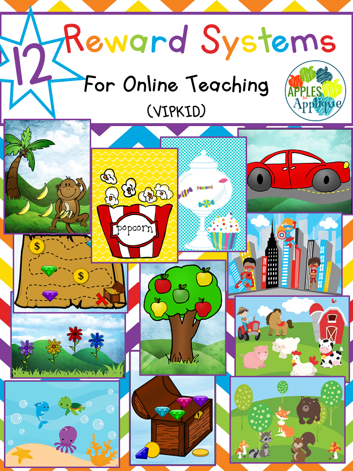photo relating to Vipkid Reward System Printable identified as Apples in direction of Applique: Most loved Props and Profit Courses for