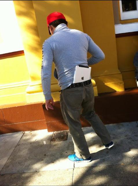 jeans ipad pocket