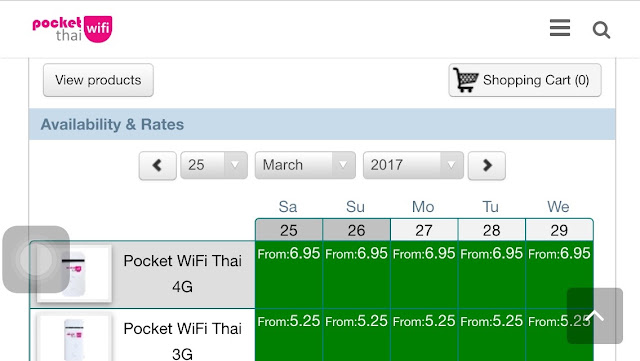 Pocket WiFi Thai