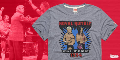 "WWE ""Royal Rumble 1994 Luger & Hart"" T-Shirt by HOMAGE"
