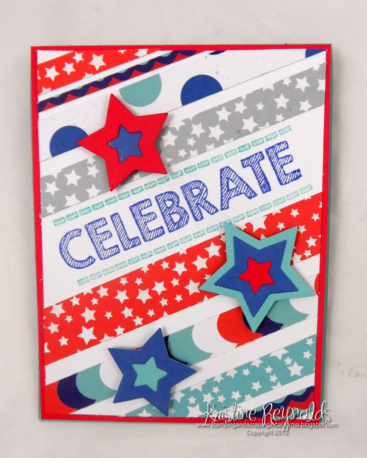 Stamping & Scrapping In California: Celebrate