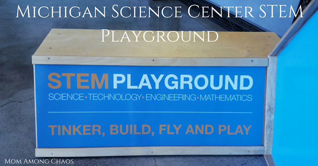 Michigan Science Center STEM Playground, STEM, Metro Detroit, Things to do, kids, family