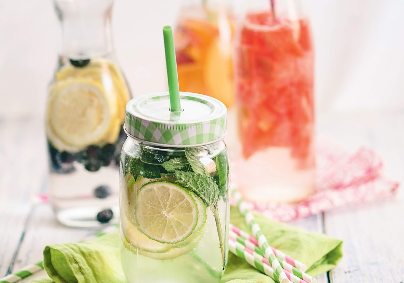 Água Sass - receita simples para hidratar