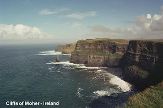 Cliffs of Moher Ireland sea