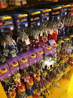 LEGO Store Keyrings