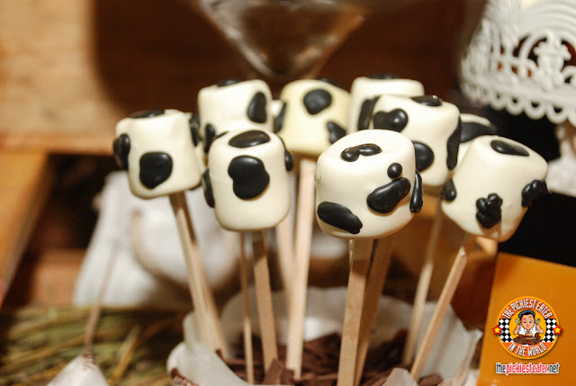 Cow marshmallows