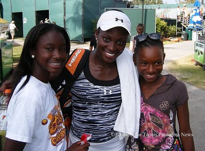 Black Tennis Pro's Sloane Stephens Qualified for 2011 Sony Ericsson Open Main Draw