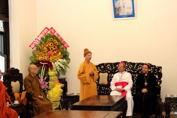 Thành hội Phật giáo chúc mừng Giáng sinh tới tổng giáo phận Sài gòn - Ảnh minh hoạ 6