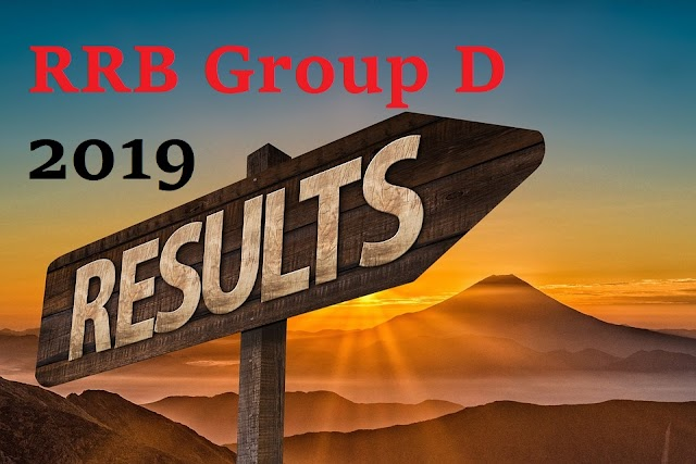 RRB Group D results 2019