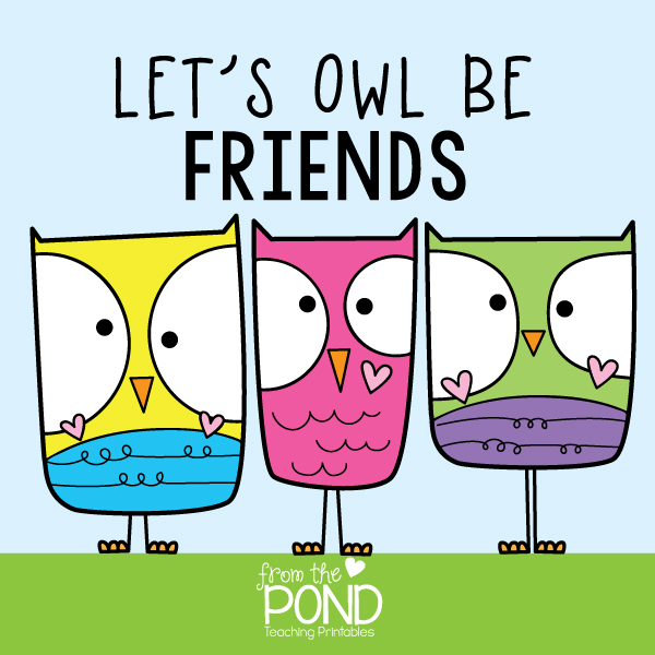 let's owl be friends quote