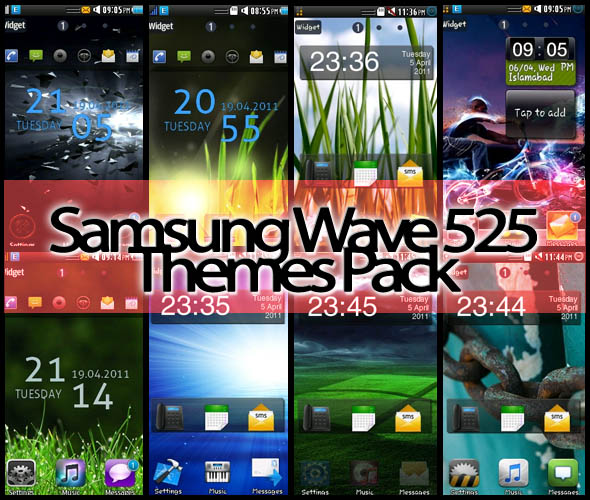 My Wave 525: 48 Themes For Wave 525