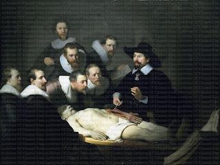 Image result for rembrandt medicine lesson