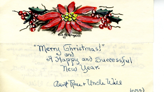 Merry Christmas Letter T.Penrose Mornings Blood Family Blog Christmas Letter From
