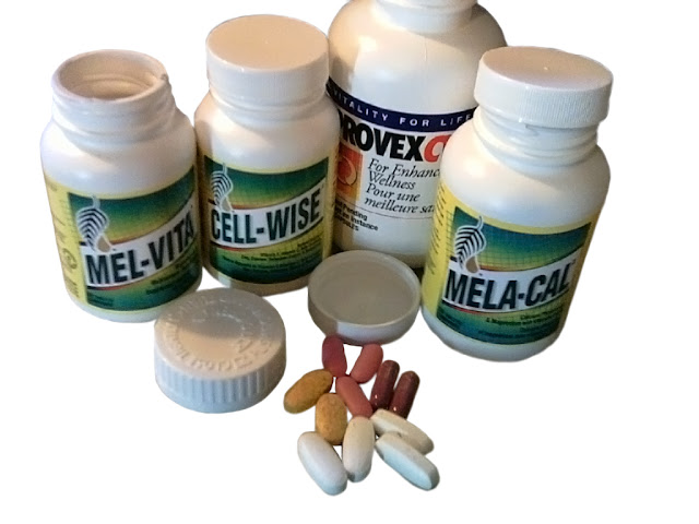 A selection of vitamins wellness capsules.