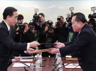 North Korea, South Korea agree to hold military talks