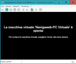creare macchina virtuale