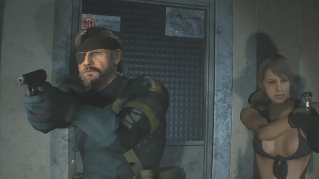 صدق او لا تصدق شخصية Big Boss و Quiet حاضر من خلال لعبة Resident Evil 2