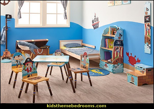 Pirate Island   pirate bedrooms - pirate themed furniture - nautical theme decorating ideas - pirate theme bedroom decor - Peter Pan - Jake and the Never Land Pirates - pirate ship beds - boat beds - pirate bedroom decorating ideas - pirate costumes