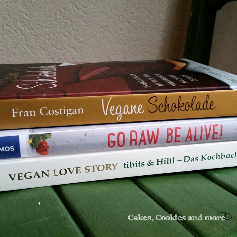Vegane Bücher auf Cakes, Cookies and more