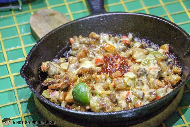 Chichario's Spanish Filipino Sisig