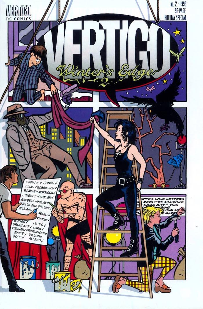 Vertigo: Winters Edge #2 dc 1999 comic book cover