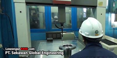 Lowongan Kerja PT. Sekawan Global Engineering Cikarang