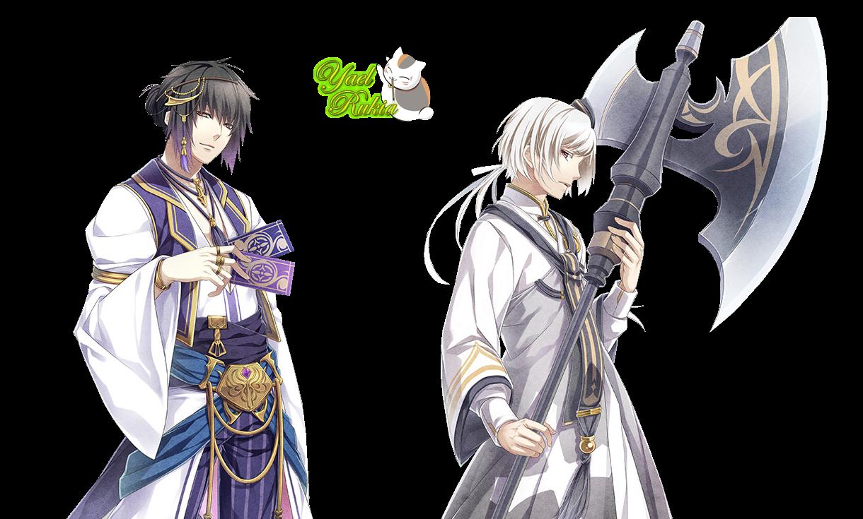 Render: Itsuki y Sakuya