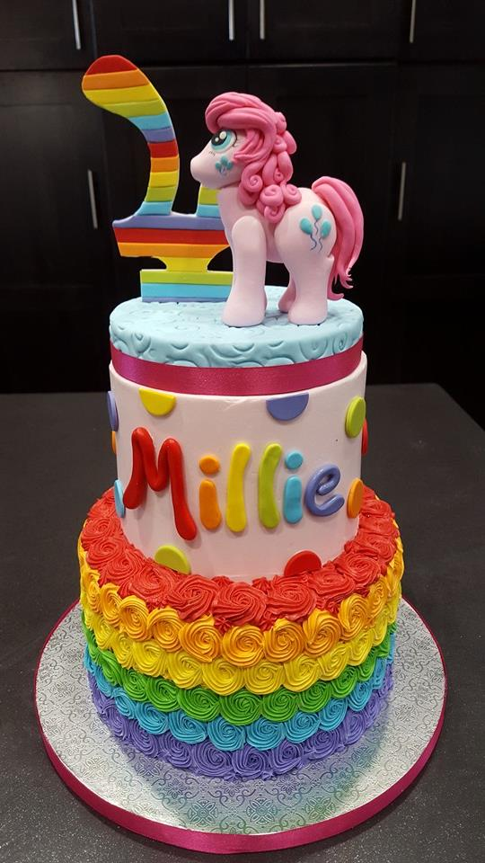 Fun And Colorful Birthday Cakes
