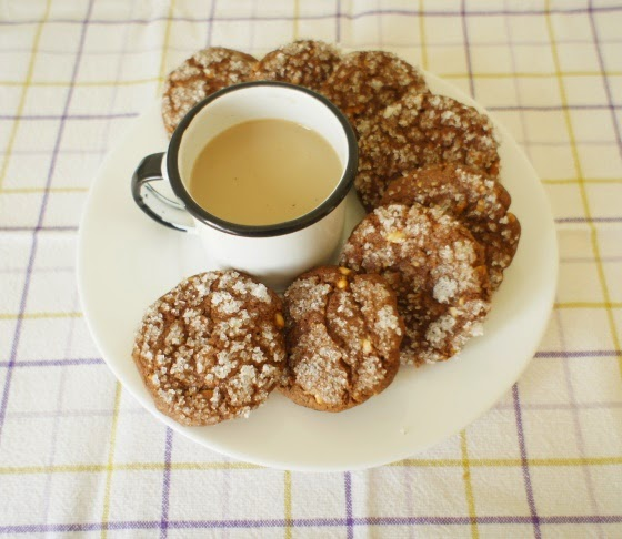 biscoito de chocolate com sementes de abóbora