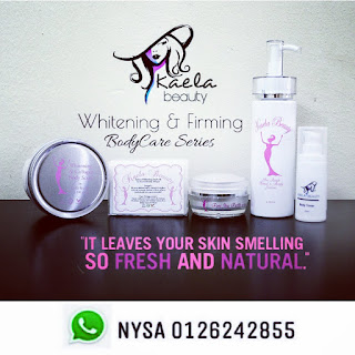 KAELA BEAUTY :  Pure Ibu Putih Whitening & Firming Set